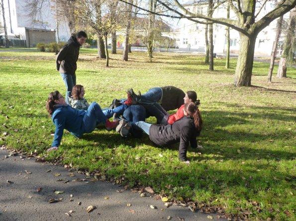 Hry v parku